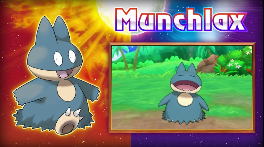 pokemon moon how to get munchlax